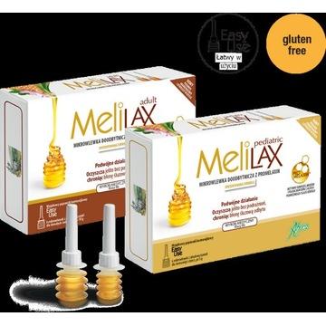 Melilax Pediatric mikrowlewka 6szt