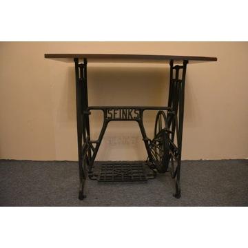 Stolik prostokątny, konstrukcja maszyny do szycia