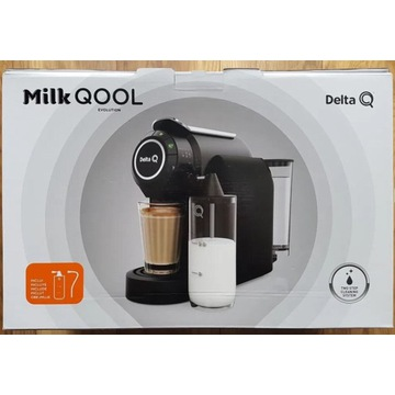 Nowy ekspres Delta Q Milk Qool ze spieniaczem