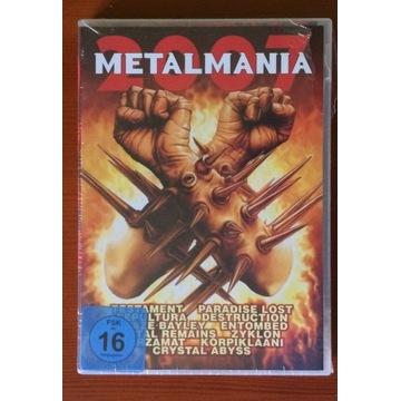 Metalmania 2007 CD+DVD