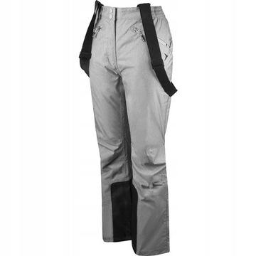 Spodnie narciarskie damskie  4F Outhorn  szare XL