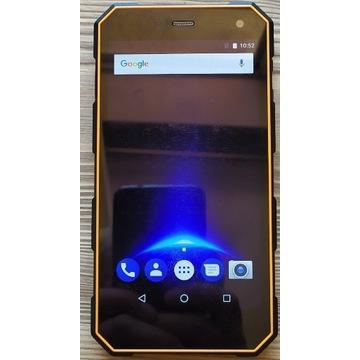 MyPhone Hammer ENERGY Dual SIM Pomarańczowo Czarny