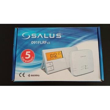 Sterownik piec SALUS 091FLRF V2 BEZPRZEWODOWY NOWY