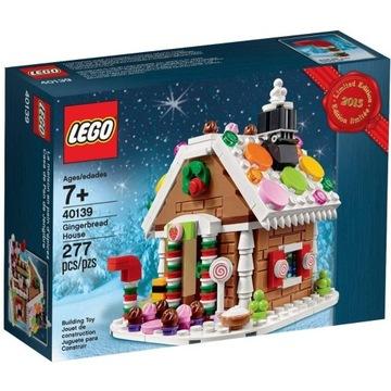 LEGO 40139 ŚWIĄTECZNA CHATKA PIERNIKOWA DOM DOMEK