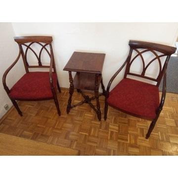 Fotele gięte i stolik