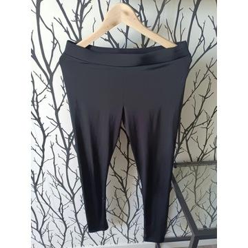HM czarne legginsy getry lekko połyskujące roz. 38