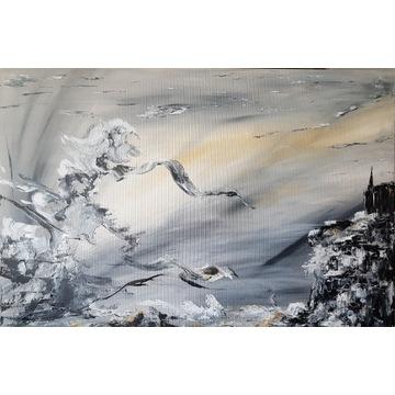 Duży obraz 90×60 Abstrakcja 1