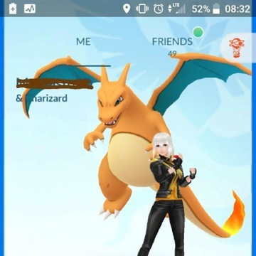 Konto Pokemon GO level 37