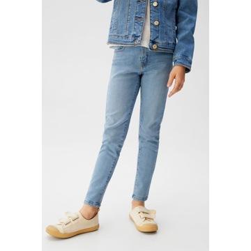 MANGO_ spodnie jeans rurki skinny NOWE r 134