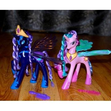 My Little Pony Luna Nightmaremoon Celestia HASBRO