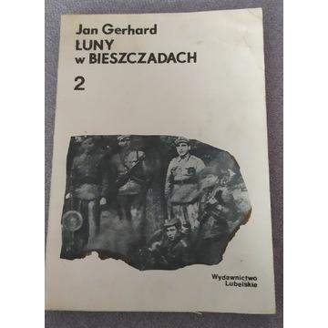 Łuny w Bieszczadach tom 2 Jan Gerhard