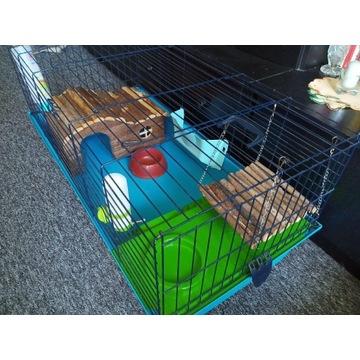 DUZA klatka dla świnki, królika, szynszyla 100/50
