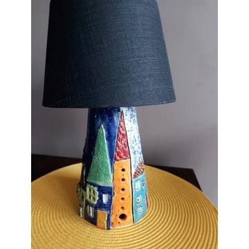 Ceramiczna lampka