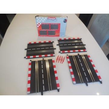 Carrera PROFI standardowa 4 x prosta łączniki 7151