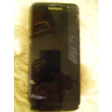 Samsung S7 Edge 32GB czarny, pobity wyswietlacz,