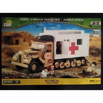 Klocki Cobi 2518 Ford V3000S Maultier Ambulance