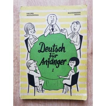 Deutsch fuer Anfaenger, Kozłowska, Szulc