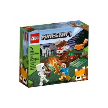 LEGO 21162 Minecraft - Przygoda w tajdze Nowy