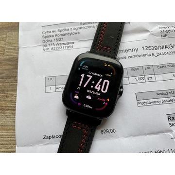 Smartwatch Amazfit GTS 2e + nowe paski