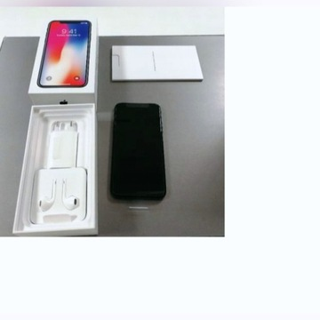 Nowy APPLE IPHONE X 64GB LTE space gray