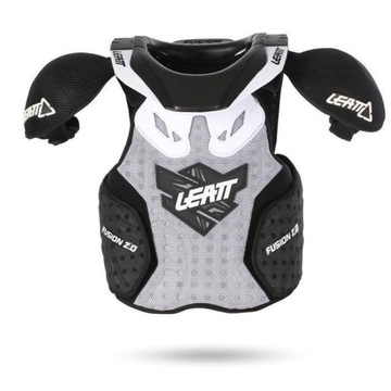 LEATT FUSION VEST 2.0 Junior Biały L/XL
