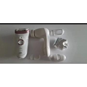 Depilator braun z akcesoriami