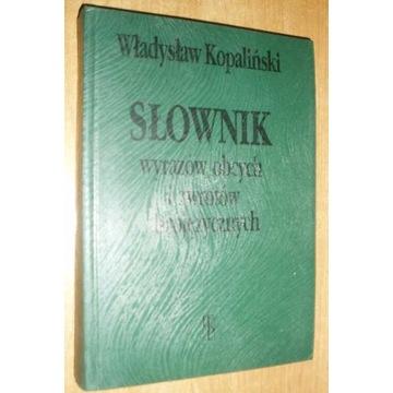 Słownik wyrazów obcych i zwrotów obojęzycznych