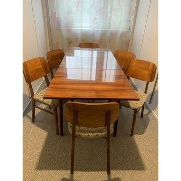 Bilea stół rozkładany krzesła komplet ideał.