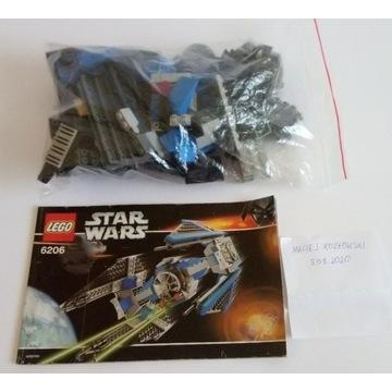 Klocki LEGO Star Wars TIE Interceptor 6206