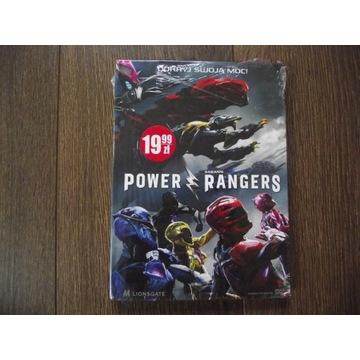 POWER RANGERS, film (DVD), nowy w folii