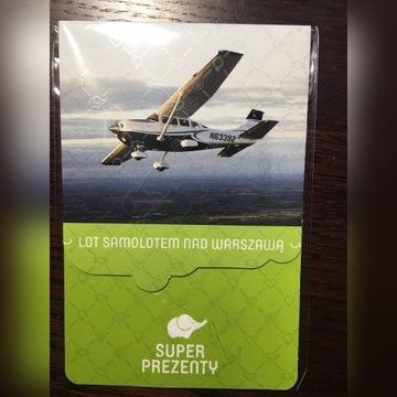 Voucher Lot Samolotem nad Warszawą