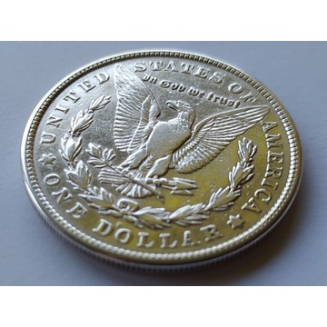 USA dolar 1921r  Morgan   ag