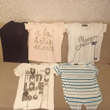 Koszulki t-shirty roz. M esprit zara reserved h&m