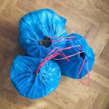 torba UBRAŃ używanych rozm S XS ok 30 kg + buty 37