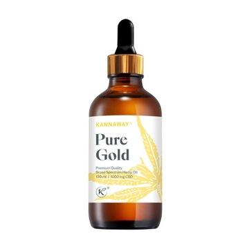 Pure Gold Kannaway 2022 olej konopny CBD 120ml