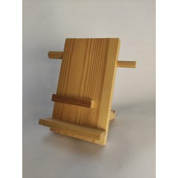 Drewniany organizer biurowy