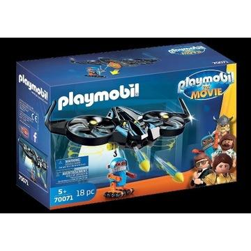 PLAYMOBIL MOVIE 70071 ROBOTITRON Z DRONEM-STRZELA!