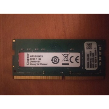Kingston 8GB (1x8GB) 2400MHz CL17