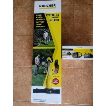 Karcher LTR 36-33 podkaszarka aku bateria ładowrka