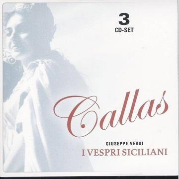 MARIA CALLAS LIVE Verdi - I vespri siciliani 3cd