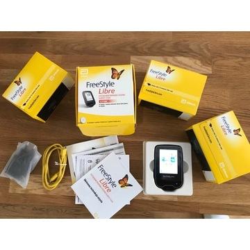 FreeStyle Libre czytnik + 3 sensory