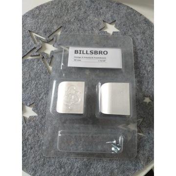 Ikea Billsbro uchwyt stalowy rączka 40mm 2 szt