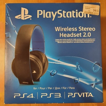 Sony wireless słuchawki playstation bezprzewodowe