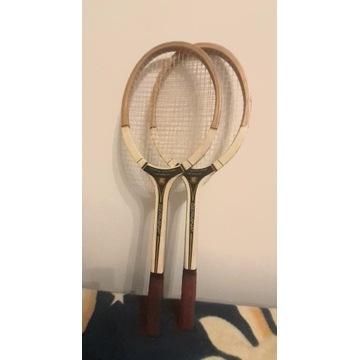 Rakiety tenisowe Germina Topspeed z lat 70-tych