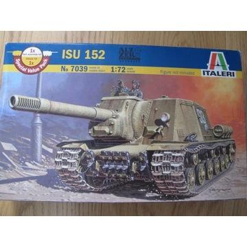 1/72 ISU-152 Italeri - dwa modele bez kalek