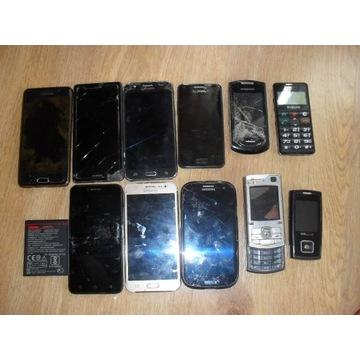 Telefony komórkowe na części