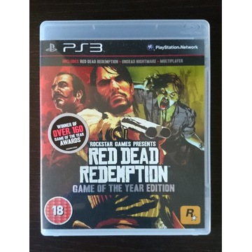 Red Dead Redemption GOTY PS3 Premierowa