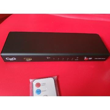 Rozdzielacz Spliter HDMI 4 do 1