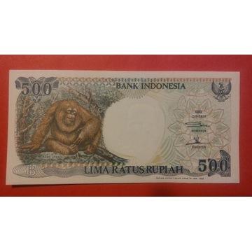 INDONEZJA - 500 RUPIAH 1999 STAN UNC