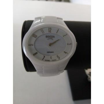 Zegarek damski Boccia 3216-01 BIAŁY
